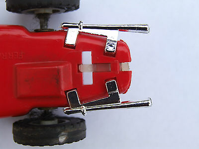 Really Useful Spares Repro Scalextric RUE2 EXHAUST C62/C90 FERRARI 156 CHROME  • 4.25£