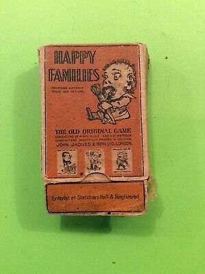 Victorian Set Jaques Happy Families Card Game • 18£
