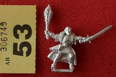 Games Workshop Mordheim Mordheim Witch Hunter 4 Warhammer Metal Figure Mint OOP • 34.99£