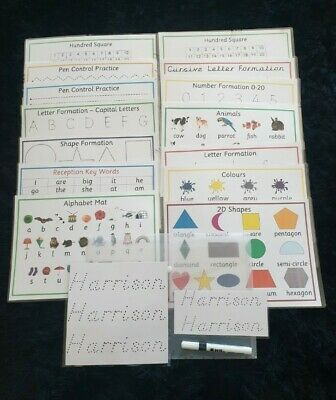 Educational Learning Pack Home Schooling KS1 Reception Early Years Personalised  • 13.50£
