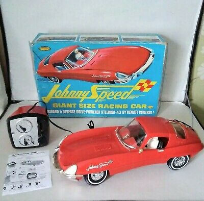 Rare LARGE Triang 1960s  Toppers Johnny Speed Car   ( EXCELLENT )   Boxed • 239£