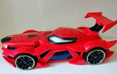 Spiderman Hot Wheels Web-car Launcher Rare With Hot Wheels Car • 18.99£