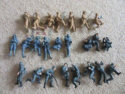 Vintage Collection Of Tamiya WW2 German Army Figures For Diorama • 15£