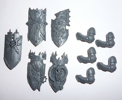 Chaos Knights Shields & Arms X 5 – G507 • 4.80£