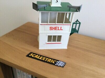 Scalextric  Shell  Control Tower  - C702  - Excellent Condition  • 24.95£