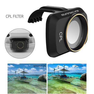 CPL Filter Camera Lens Polarizer Filter For DJI Mavic Mini Accessories Black • 9.13£