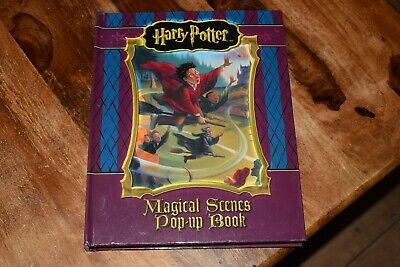 Harry Potter: Magical Scenes - Pop-Up Book  Harry Potter Rare By BBC Hardback • 35£
