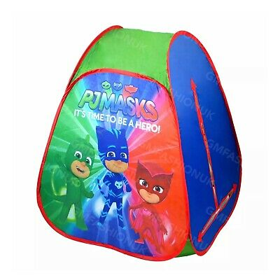 PJ Masks Childrens Unisex Indoor& Outdoor Pop Up Play Tent Folding Tent For Kids • 14.95£