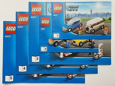 Lego City 4207 City Garage Instruction Manual BOOKS ONLY New • 7.99£