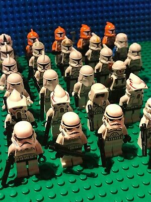LEGO Star Wars Genuine Figures - Rare Clone Troopers / Snowtroopers Etc • 12.99£