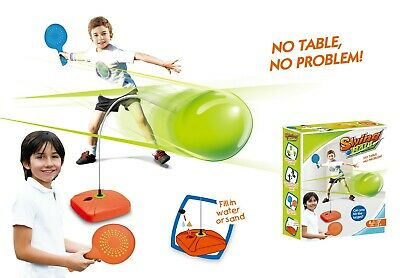 Classic Garden Swingball With Small Ball For Kids Age 5+ Swing Ball Outdoor Play • 14.25£