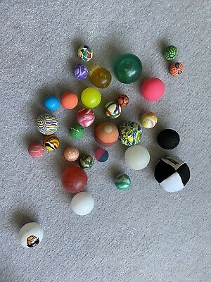 Kids Bouncy Balls. Rubber. Different Sizes And Colours.  • 5£