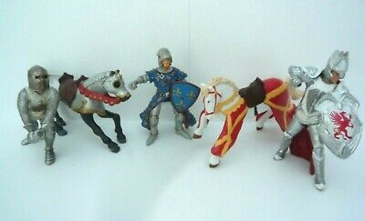 Knights And Horses Schleich And Papo Figures • 7.50£