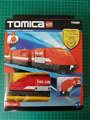 *New* Sealed Tomica Tomy HyperCity Rescue Train 85100 • 24.99£
