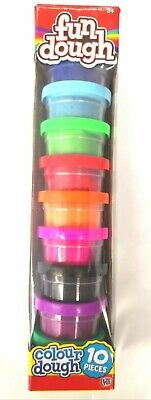 Fun Play Doh Dough Pack Of 10 - Creative Craft Modelling Play • 6.50£