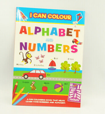A4 Childrens Learning Books - Kids Reading Writing Numbers Educational Activity • 2.72£