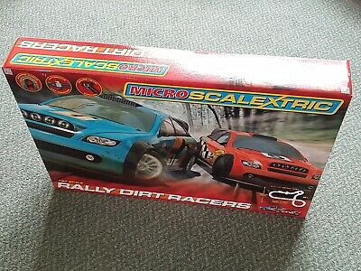 *New*Sealed Micro Scalextric Rally Dirt Racers 1:64 Scale • 49.99£