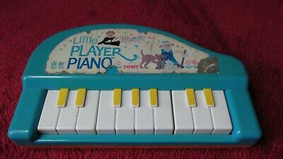 Tomy Little Player Piano Vintage Toy • 6.99£