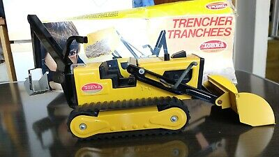 Tonka Canada 2534 Vintage Trencher Bulldozer Digger With Rear Bucket  • 55£