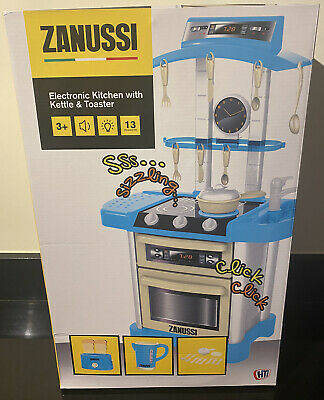 Zanussi Electronic Toy Kitchen With Kettle & Toaster NEW • 15£