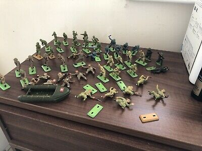 Britains Ltd Deetail Toy Soldiers. American, German, Japanese And British Forces • 20£