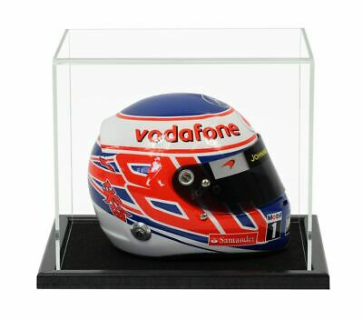 Acrylic Display Case For A 1/2 Scale Racing/Crash Helmet • 55.98£