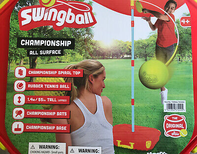Classic ALL SURFACE Swingball Kids Swing Ball & Carry Case Tennis Game • 39.99£