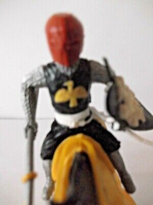 Rare Timpo Medieval Knight Mounted. • 125£