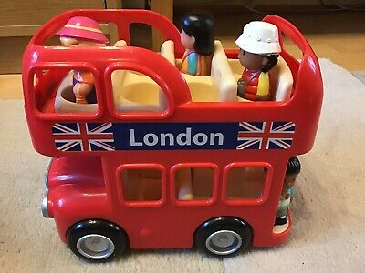 Happyland London Routemaster Bus With Tourists, Conductor And Driver Bundle • 2.20£