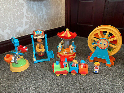 Elc Happyland Musical Funfair With Figures And Train • 20£