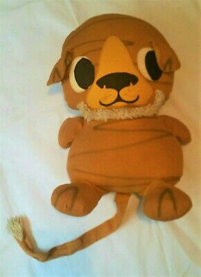 Large Vintage Tiger Soft Toy Filled With Kapok Stuffing • 19.99£