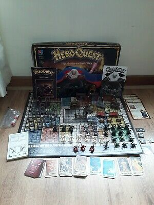MB Games Heroquest Board Game 1989 • 44£