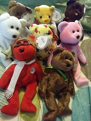 Ty Beanie Babies  With Tags • 8£