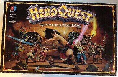 Heroquest 1989 Board Game 100% Complete Painted • 138.99£