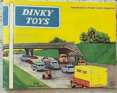 Dinky Toys Supertoys Catalogue Reproduced By Model Collector Magazine.  • 20£