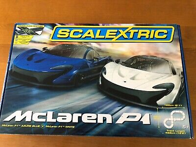 Scalextric Mclaren P1 Crossover Set With Extra Cars • 100£