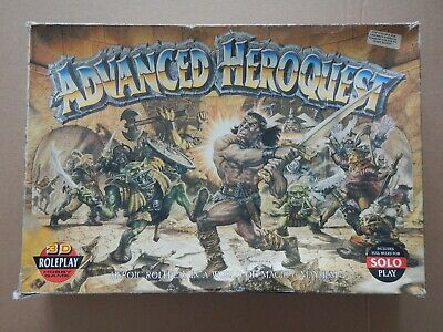 Games Workshop Advanced Heroquest 3d Roleplay Game - Incomplete. • 23£