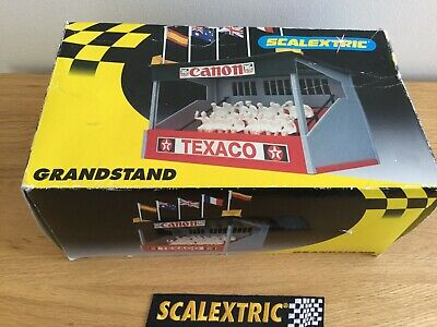 Scalextric Lovely Vintage Texaco Grandstand - C636 In Box • 24.95£