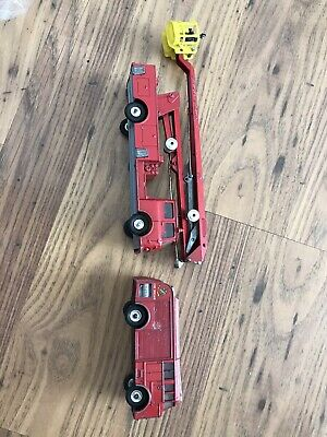 Vintage Toy Fire Engines • 18£