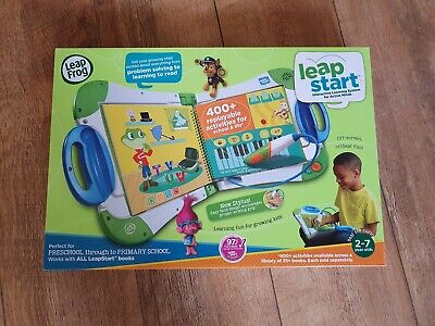 Boxed Excellent Leapfrog Leapstart Interactive Learning System With Preschool Bk • 5£