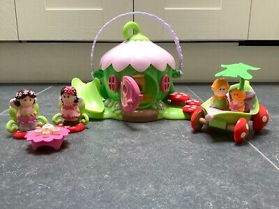 Early Learning Centre Happyland Fairy Flower House Excellent Used Condition • 8.80£