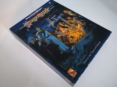 Dragonlance Tales Of The Lance Box Set AD&D 2nd Edition + Adventure Volume-1 • 69£