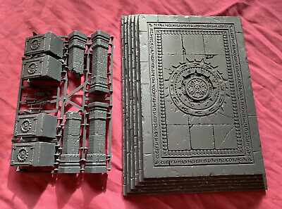Warhammer AOS Dominion Of Sigmar Shattered Temple Dais + 4 Columns New, Lot C • 19.99£