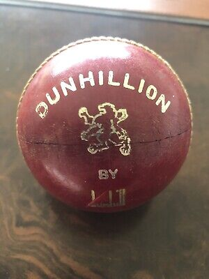 Dunhill Dunhillion Leather Cricket Ball Executive Desk Accessory Paperweight • 24.99£