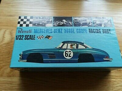 Revell 1/32 Mercedes 300 SL Coupe Slot Racing Body Mint N.O.S • 60£