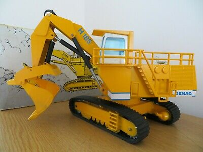 NZG DEMAG H185 FACE SHOVEL EXCAVATOR  MODEL  DIECAST NZG No 241 RARE COLLECTORS • 92.50£