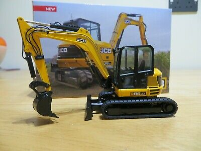 Nzg Jcb 86-1 Compact Mini Excavator Jcb Diecast Model Jcb Rare Jcb Collectable • 79.99£