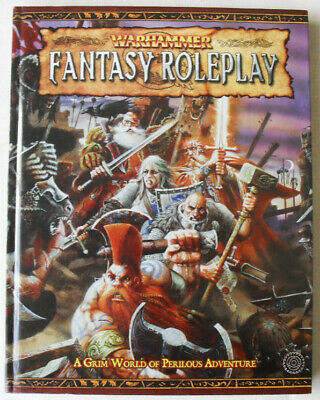 Warhammer Fantasy Role Play. 2nd Edition Core Rulebook. OOP WHFRP. • 30£