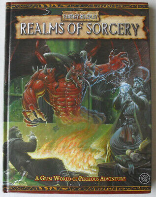 Realms Of Sorcery. Warhammer Fantasy Role Play 2nd Edition. OOPWHFRP. • 40£