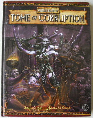 Tome Of Corruption. Warhammer Fantasy Role Play 2nd Edition. OOP WHFRP. • 40£